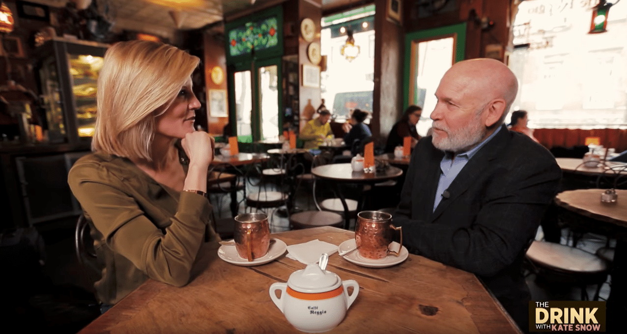 A Drink with Steve McCurry: NBC News