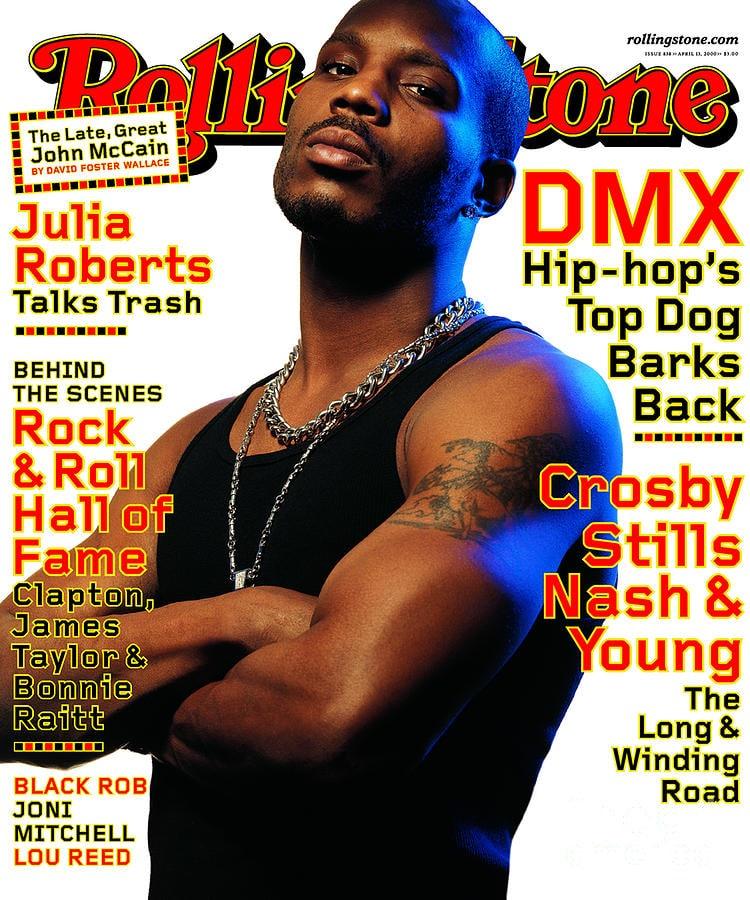 Albert Watson Rolling Stone DMX