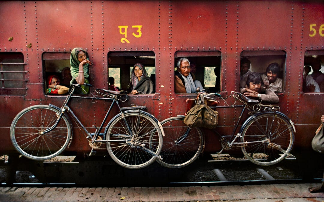 India by Rail – Inspiration from Steve McCurry